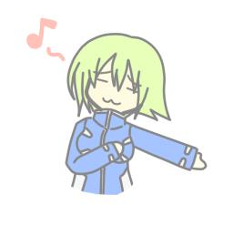 感動を歌にしましょうか!